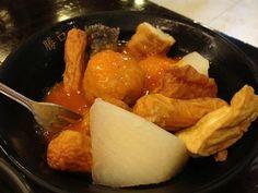 Taiwan tempura and oden Often found in night markets!  Yum
