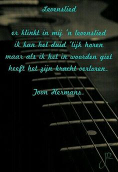 Levenslied Toon Hermans