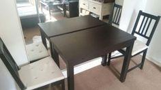 Kleiner Esstisch ausziehbar mit 2 Stühlen (Ikea) in Hamburg - Finkenwerder | Esstisch gebraucht kaufen | eBay Kleinanzeigen
