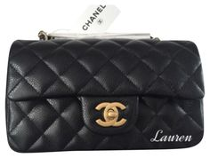 Chanel Caviar Rectangular Mini With Gold Hardware Black Cross Body Bag. Get the trendiest Cross Body Bag of the season! The Chanel Caviar Rectangular Mini With Gold Hardware Black Cross Body Bag is a top 10 member favorite on Tradesy. Save on yours before they are sold out!