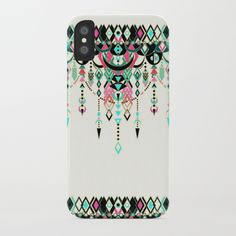 Modern Deco in Pink and Turquoise iPhone Case by micklyn Iphone Cases, Profile, Plastic, Slim, Turquoise, Deco, Modern, Pink, Stuff To Buy