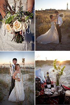 Savannah Wedding Planner: Simply Savannah Events: BOHEMIAN TYBEE ISLAND STYLED SHOOT
