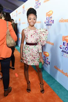 Skai Jackson Photos Photos - Nickelodeon's 2017 Kids' Choice Awards - Red Carpet - Zimbio