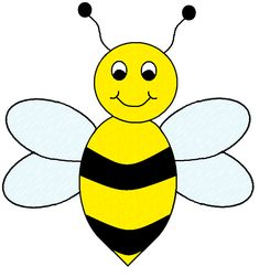 free bumble bee cartoon free vector for free download about 3 rh pinterest com free vector clipart bee free honey bee clipart images