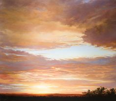 Brush Strokes, African, Victoria, Clouds, Paintings, Outdoor, Color, Art, Outdoors