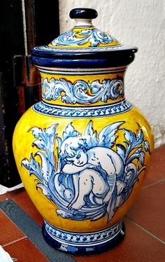 Spanish Ceramic Toledo Robles