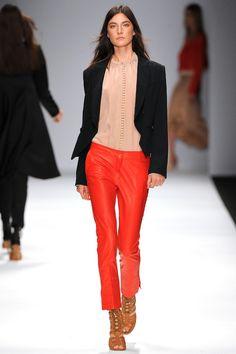 Vanessa Bruno Spring 2013 - tangerine + peach