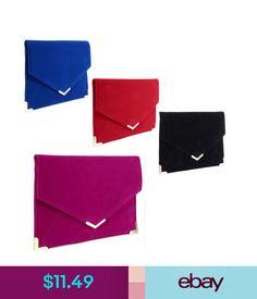 Women's Bags & Handbags Ladies Women Suede Velvet Clutch Evening Bag Wedding Envelope Prom Party Handbag #ebay #Fashion