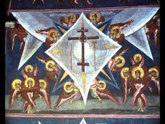 The monastery was established in a chestnut grove by Serbian King Stefan Uroš III Dečanski in Its original founding charter is dated to The follo. Byzantine Icons, Byzantine Art, Religious Icons, Religious Art, Order Of Angels, Greek Icons, Medieval Paintings, Hagia Sophia, Holy Cross