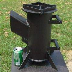 HPIM1028 | Sky Huddleston | Flickr Barbecue Smoker, Bbq Grill, Jet Stove, Wood Stove Heater, Rocket Stove Design, Welded Metal Projects, Stoves Cookers, Wood Stove Cooking, Multi Fuel Stove