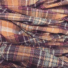 And hand-woven Tartan scarf cloth Rannoch Moor off the loom!