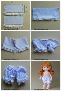 18 Ideas sewing easy dress doll clothes - Image 4 of 24 Sewing Doll Clothes, Baby Doll Clothes, Sewing Dolls, Doll Clothes Patterns, Barbie Clothes, Doll Patterns, Clothing Patterns, Diy Clothes, Fashion Sewing