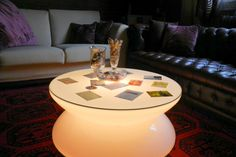 lighting coffee table