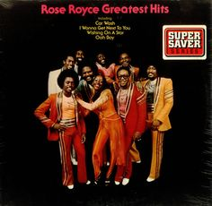 Greatest Hits, Rose Royce; I knew the name because of Madonna covering 'Love Don't Live Here Anymore' back in  the day. I then watched the 'Unsung' profile on what I then learnt was a band (not just one chick). Between 'Car Wash', S'Express sampling 'Is It Love You're After', Mary J and her cover of 'I'm Going Down' I never realized how ubiquitous this band's sound still is. Eternally good music. This is an album you need to have.