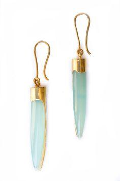 Seafoam Onyx  earrings