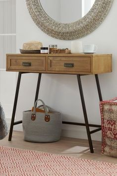 Buy Shoreditch® Solid Pine Console from the Next UK online shop