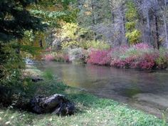 Autumn Along Spearfish Creek Maine, Country Roads, Autumn, Mountains, Nature, Pictures, Photography, Travel, Photos