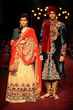 Shyamal and Bhumika featuring Dia Mirza, Lakme Fashion Week WinterFestive 13