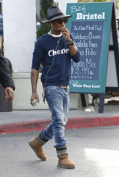 #Pharrell Williams #fashion #street