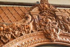 Architectural ornament created by Grisanat