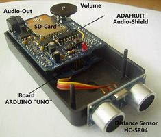A Speaking Ultrasonic Distance Sensor ---- HEY HEY!!! For more COOL ARDUINO stuff, check out http://arduinohq.com