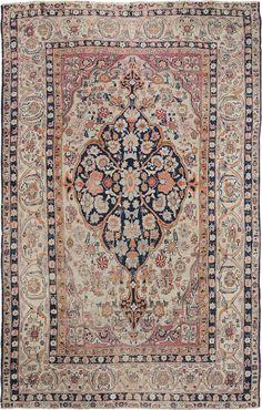 "Persian Kerman rug, 4' 4"" x 6' 10"", J.H. Minassian gallery"