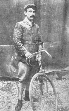 Winner of 1910 Tour de France, Octave Lapize