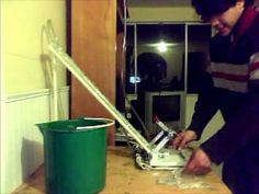maquina para hacer bolis modelo manual - YouTube