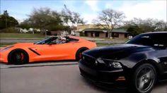 CTS-V vs C7 Stingray, Boostlogic GTR, Viper, C6 Vettes, Coyote Mustang GT