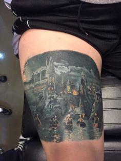 Hogwarts. Jason Weaver Living Art Gallery San Clemente, CA ❤️❤️MINE ❤️❤️