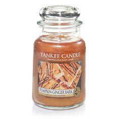 Large Jar Candles | Yankee Candle Pumpkin Ginger BArk
