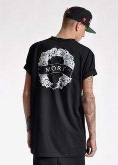 Mort Paris Logo T-Shirt Black