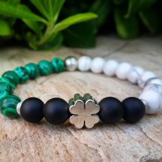 Patience Protection Prosperity Mens Beaded by Braceletshomme