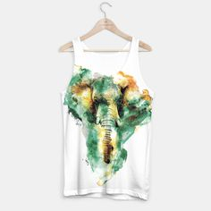 WILD AFRICA  #elephant #sweaters #tshirt #watercolor #africa #animals #streetfashion @liveheroes
