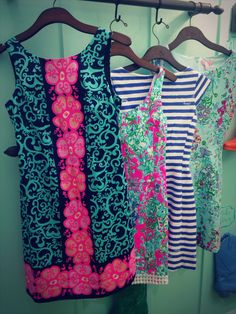 The new Lilly dresses are to die for! (And the mermaid print isn't coming out till April…. Brb crying)