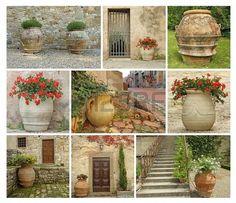 tuscan style gardens - Google Search #CourtYard #Landscape #Outdoor  ༺༺  ❤ ℭƘ ༻༻  IrvineHomeBlog.com