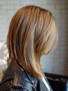 Best Long Angled Bob Haircuts | #BobCutHairstylesMedium