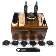 http://fashionisland.se/en/home.php Loake luxury valet shoe shine box.