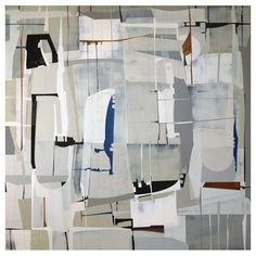 """""""Sequel II,"""" Painting By James Kennedy, 51x51"""" Diptych Available 