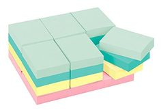 Post-it Notes Value CBOoa Pack, Marseille Collection, 24 Pack (2 Pack)