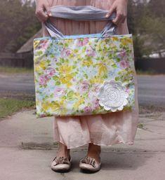 Pillowcase Tote Bag Tutorial