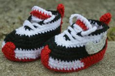Check out this item in my Etsy shop https://www.etsy.com/listing/276117308/crochet-newborn-nike-sneakers-baby