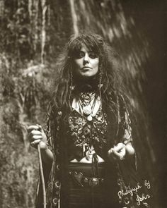 The mystic, Vali Myers