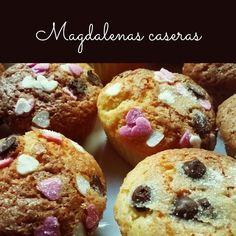 Hoy para el desayuno magdalenas caseras ☕🍪 Homemade Desserts, Muffin, Breakfast, Food, Home Made Cupcakes, Homemade, Deserts, Morning Coffee, Essen