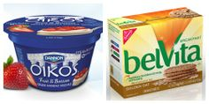 Win the Morning with belVita Crunchy Biscuits and Dannon Oikos Greek Yogurt