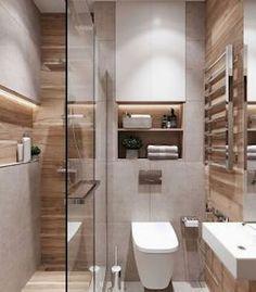 WC & Badezimmer Renovierung - Koupelny - # Renovierung - home design - Small Bathroom Colors, Modern Bathroom Design, Bathroom Interior Design, Toilet And Bathroom Design, Washroom Design, Toilet Design, Interior Livingroom, Interior Modern, Interior Paint