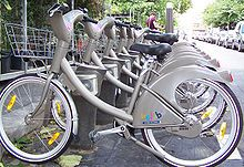 large-scale public bicycle sharing system