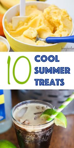 10 cool summer treats-these look so yummy!