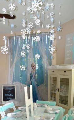 Frozen Elsa Party Birthday Party Ideas | Photo 2 of 28 | Catch My Party