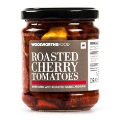 Roasted Cherry Tomatoes 180g Roasted Cherry Tomatoes, Roasted Garlic, Salsa, Jar, Lunch, Mothers, Food, Clothing, Tall Clothing